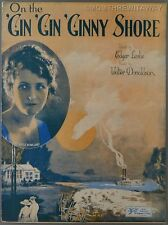 1922 On The Gin Gin Ginny Shore Leslie & Donaldson Adele Rowland Virginia Song