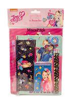 JOJO SIWA 11 Piece School Supplies Notebook Folder Pencils Case Supplies