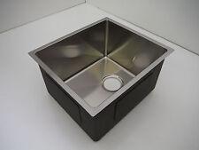 Stainless Steel Single Bowl Sink Veggie Prep Bar Laundry