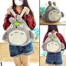 "Kawaii Anime My Neighbor Totoro Stuffed Plush Backpack Shoulder Bag 15"""