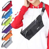 HO_ Unisex Waist Bum Bag Fanny Pack Belt Money Pouch Wallet Travel Sports Bag De