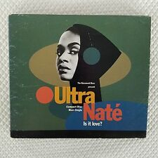 Ultra Nate CD Maxi Single Is It Love Scandal 1991 Warner Bros Rare