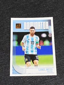 2018 Donruss Lionel Messi Dominator Card
