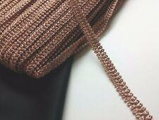 Rose Gold Swirl Gimp Braid Trim Tape Upholstery Costume Embellishment TR0086