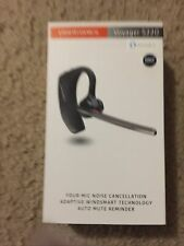 New Plantronics Voyager 5220 Premium Hd Bluetooth Headset WindSmart Technology