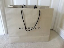 BURBERRY DESIGNER SHOPPING TOTE GIFT BAG GIANT BEIGE H41.5 x W48cm NEW FREE P&P