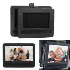 Car Headrest Mount Case Holder Bag For 10'' Portable DVD Player Black
