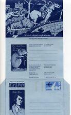 1974 Great Britain Burns aerogramme