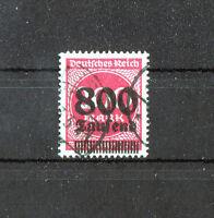DR Deutsches Reich 303 A gestempelt Michel 100,00 € used