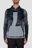 Stone Island Shadow Project Teleport Wool Hoodie In Grey RRP £395