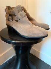 Topshop Monti Suede Style Cut Out Ankle Boots Size 40/UK 7 BNWOB Read Descript