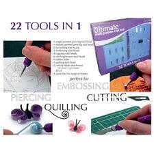 Ultimate Multi propósito Tool Craft Kit De Scrapbooking Pergamino Tarjeta haciendo Repujar