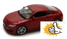 2014 Audi TT Coupe Germany modellauto model car red rot Welly diecast scale 1:36