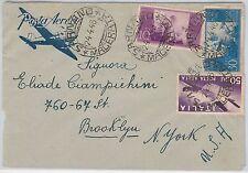 47407 - ITALIA REPUBBLICA Storia Postale: BUSTA Posta Aerea TARIFFA 90 L. 1948