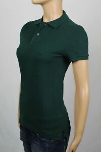 Ralph Lauren Green Skinny POLO Shirt No Pony NWT $85
