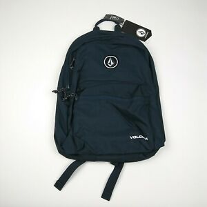 VOLCOM Backpack School Bag One Size Navy Blue NWT
