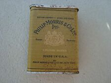 Vintage Philip Morris & Co Ltd Special Blend Slide Top Antique Cigarette Tin