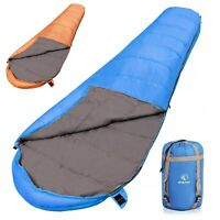 REDCAMP Lightweight Adult Mummy Sleeping Bag for Backpacking Camping Hiking