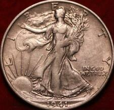 1941-S San Francisco Mint Silver Walking Liberty Half
