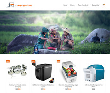 Established Camping Turnkey Website BUSINESS For Sale - Profitable DropShipping