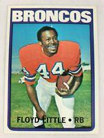 1972 Topps Floyd Little #50 HOF NM+