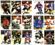 1993-94 DONRUSS RATED ROOKIES COMPLETE 15 CARD INSERT SET LOT Brodeur Rare Mint