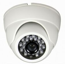"Dome Camera 550TVL Color 1/4"" CMOS 60ft/20m 24IR LED 3.6mm Fixed Board Lens CCTV"