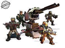 MEGA BLOKS Figure HALO 5 Construx UNSC Yankee Squad Set Action Figures Fireteam