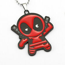 Marvel Comics Kawaii Deadpool Necklace