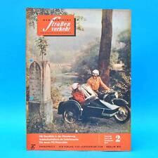 Der Deutsche Straßenverkehr 2/1962 DDR Skoda 1202 MZ-Motorräder WM-Chronik