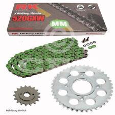 Kit de Cadena Kawasaki Z 750 04-14 Cadena RK mm 520Gxw 112 Verde Abierto 15/43