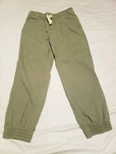 Boys Size 6 Olive Green Children's Place Pull On Joggers