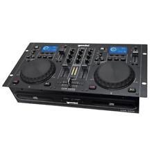 Gemini Cdm-4000 Professional DJ Dual CD Player Mp3 USB Deck Working