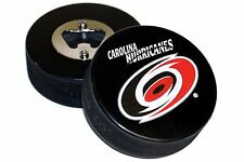 Carolina Hurricanes Basic Logo NHL Hockey Puck Bottle Opener