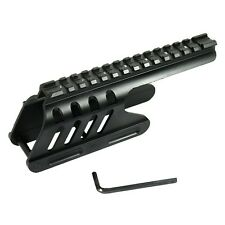 12 GA Shotgun Remington 870 Compatible Saddle Weaver Picatinny Rail Mount