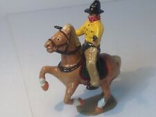 Very nicely converted and painted mounted lead cowboy. No 1