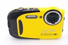 Fujifilm FinePix XP Series XP80 16.4MP Digital Camera - Yellow