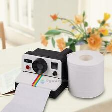 New Creative Retro Cute Camera Shaped Tissue Roll Holder Box Toilet Paper Roller