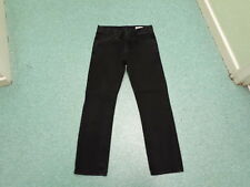 "Denim Co Straight Jeans Waist 30"" Leg 30"" Black Faded Mens Jeans"