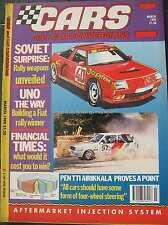 Cars & Car Conversions CCC March 1990 Fiat Uno Mini Audi Quattro Lancia Delta
