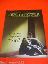 THE WATCHTOWER - WHAT HAPPENED TO SIN - JUNE 1 2010
