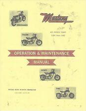 MUSTANG Motorcycle Repair Manual