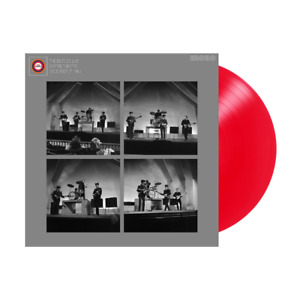 The Beatles Live At The Liverpool Empire 7th December 1963 Red Coloured Vinyl LP