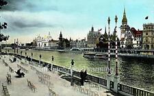 Photo. 1900. France. Paris Expo - Quai des Nations
