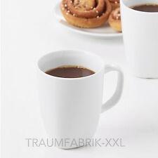 IKEA värdera tasse café blanc GOBELET grande à COUPES 300ml NEUF