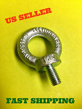 LOT OF 10, 7/16 M10 Lifting Shoulder Machinery Eye Bolt Steel Zink Plated # 2452