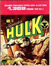 L'Incredibile Hulk n 5 del 1980 con bollino - Corno