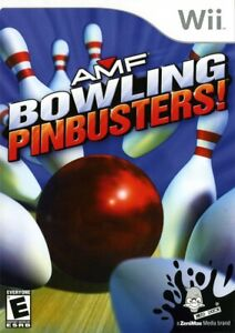 AMF Bowling: Pinbusters - Nintendo  Wii Game