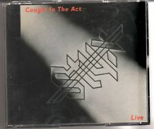 STYX: CAUGHT IN THE ACT LIVE 2 CD SET A&M RECORDS TOMMY SHAW DENNIS DEYOUNG