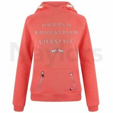 Womens HV Polo Ciara Bright Coral Hooded Top RRP £69.99